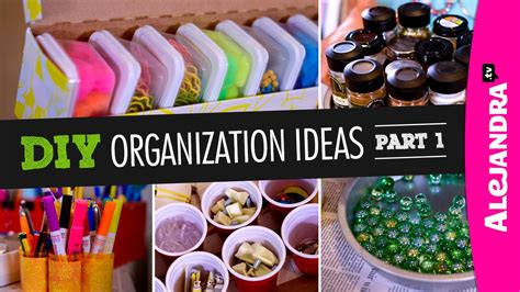 diy organization ideas part  youtube