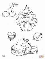 Coloring Give Muffin Mouse Cookie Cupcake Muffins Jawar Printable Desery Moose Colorare Disegni Drukuj sketch template