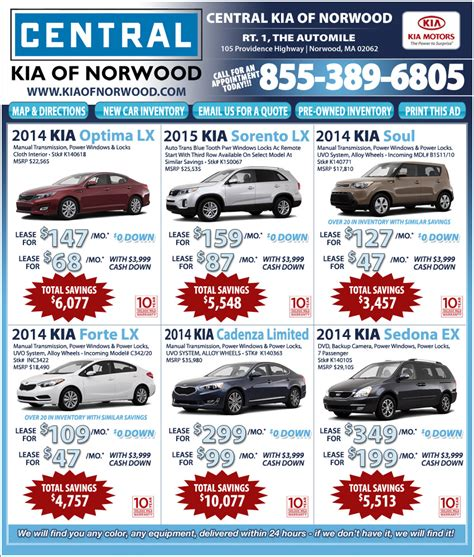 Central Kia On The Automile In Norwood, Ma