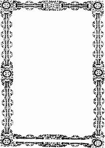 Simple Ornate Frame Clipart | i2Clipart - Royalty Free ...
