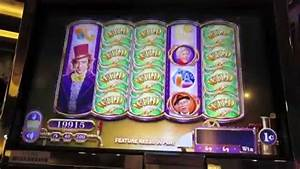 Willy Wonka Slot Machine Bonus and live play - YouTube