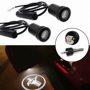Mini Led Keychain Light 2pcs Wireless Car Door Ghost Shadow Projector Laser Logo