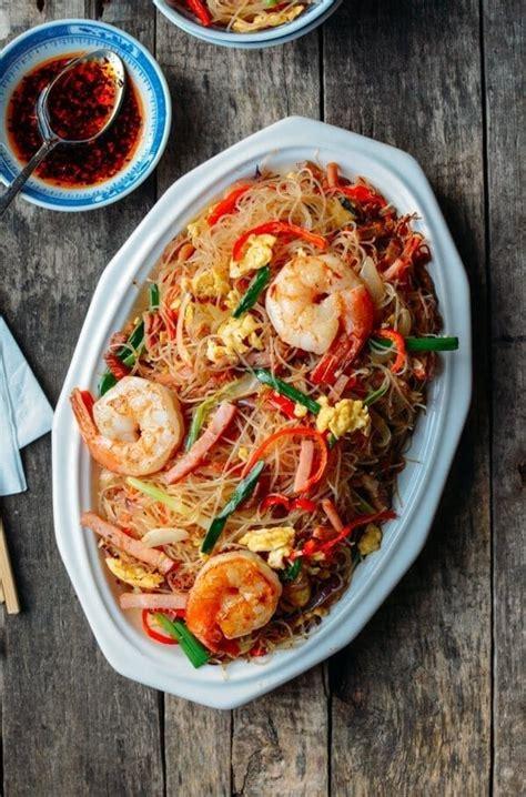 xiamen chow mei fun rice noodles  woks  life