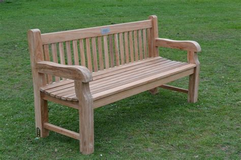 outside benches for teak garden bench chunky