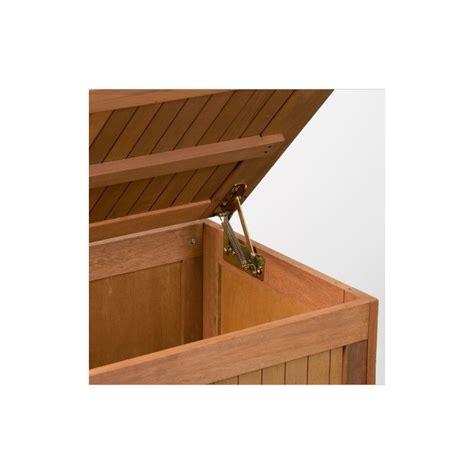 balance cuisine professionnelle banc coffre de rangement jardin extérieur en bois avec coussin