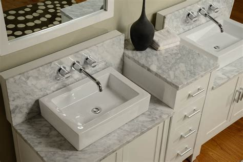 wall mount bathroom vanity sink 84 quot horizon double vanity sink console with pearl white