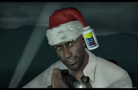 louis  christmas hat left  dead  gamemaps