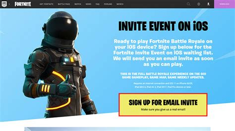 snag  invitation  play fortnite  ios