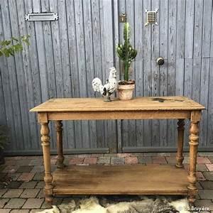 Table De Drapier : table ancienne de drapier boutique brocante de la bruy re objets inattendus ~ Teatrodelosmanantiales.com Idées de Décoration