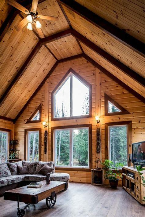 Interieur De Chalet En Bois Quel Type D Int 233 Rieur Pour Votre Chalet En Bois Habitable