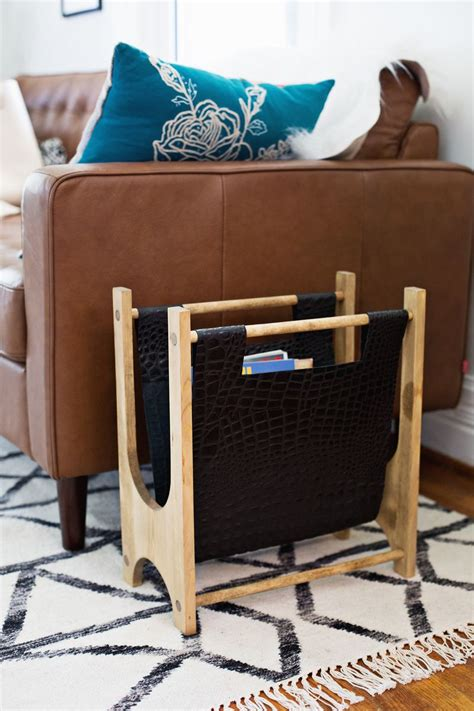 easy diy magazine racks