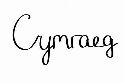 Cymraeg Welsh Language Wales Written Peoplescollection