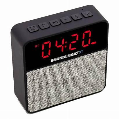 Alarm Clock Bluetooth Soundlogic Radio Xt Wireless
