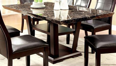 rectangular pedestal dining room table clayton i dark cherry rectangular pedestal dining room set