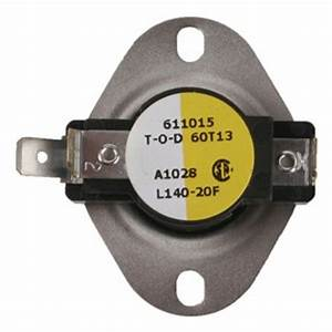 White Rodgers Snap Disc Limit Control Switch 140 Degree