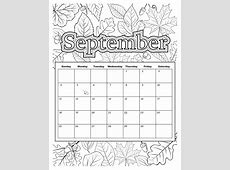 Calendar For September 2018 Printable Template With Holidays