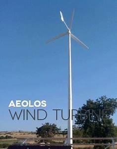 Windkraftanlagen Für Einfamilienhäuser : aeolos windenergie gmbh 1kw windkraftanlagen 1kw horizontale windturbinen f r ~ Udekor.club Haus und Dekorationen