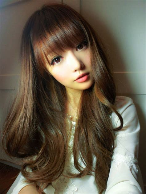 Japanese With Brown Hair by