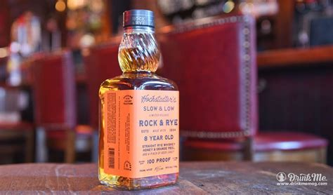 rock and rye whiskey hochstadter s slow and low rock and rye drink me