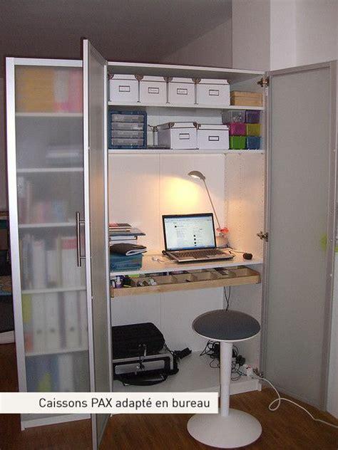placard bureau ikea armoire pax en bureau rangements bureaux