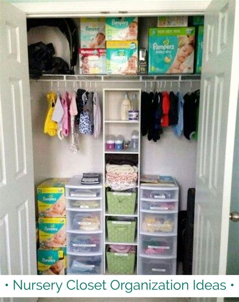 Room Closet Organization Ideas by 54 Baby Room Closet Ideas Nursery Closet Organization