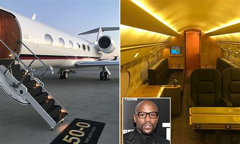 floyd mayweather buys  lavish jet   birthday