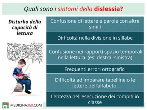 Test Per Dislessia by Dislessia Sintomi