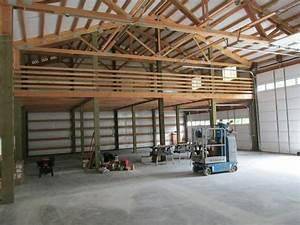 pole barn interior ideas home design ideas With pole barn garage interior ideas