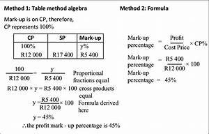 Solution Profit Percentage Calculation