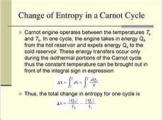 The second law of thermodynamics презентация онлайн