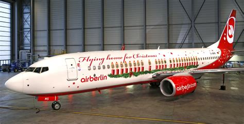 airberlin weihnachtsflieger 2013 gute werbung
