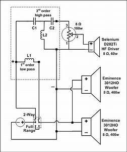 Eminence Wiring Diagram 2 Way Crossover