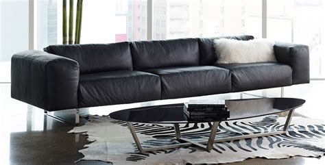 clint sofa  american leather