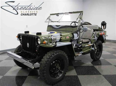 army jeep 1945 willys mb military jeep for sale classiccars com