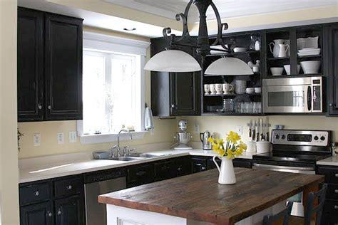 black cabinets kitchen ideas black kitchen cabinets pictures home furniture design 4657