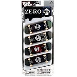 tech deck 96mm 4 pack assortment zero skateboards