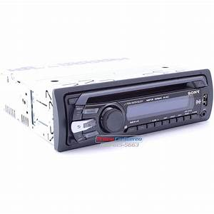 Sony Cdx Gt35u In Dash Cdmp3amfm Receiver With Built Rds Front