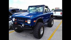 1973 Ford Bronco 4x4 Start Up  U0026 Rev With Exhaust View