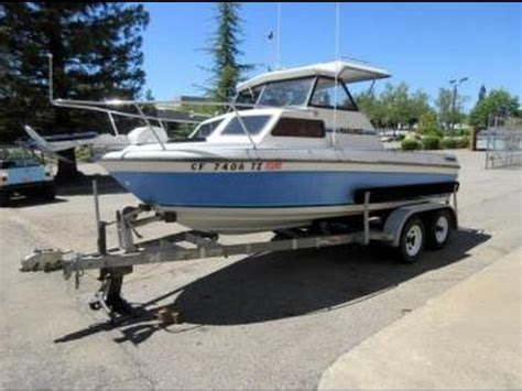 20 Foot Boat With Cabin by 1990 Marlin 18 Foot Cuddy Cabin Boat On Govliquidation