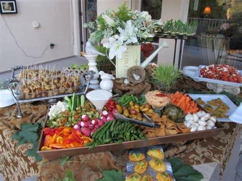 rustic veggie tray  fab veggie displays