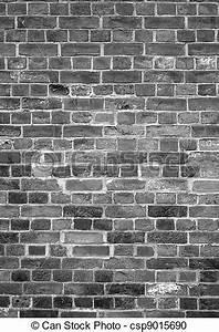 Mur Brique Blanc : photographies de vieux anglaise brique mur noir et blanc fond csp9015690 recherchez des ~ Mglfilm.com Idées de Décoration