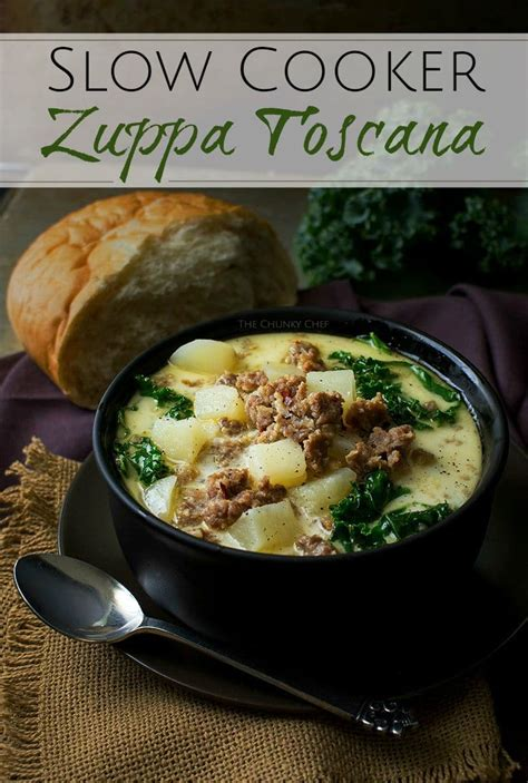 zuppa toscana slow cooker soup olive garden chef chunky recipe recipes better soups classic way thechunkychef cozy warm fall pleaser