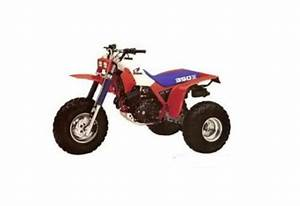 Honda Atc350x Service Manual Repair 1985