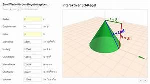 Höhe Berechnen : kegel online berechnen neues programm fertig problem radius oder h he aus mantelfl che und ~ Themetempest.com Abrechnung