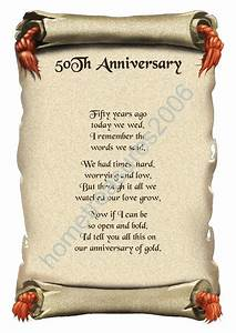 7 best images of 50th anniversary poems for parents With poems for a 50th wedding anniversary