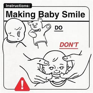 Funny Images On How To  And Not To  Take Care Of A Baby