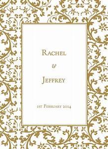 elegant gold border clip art 43 With wedding invitation border designs gold