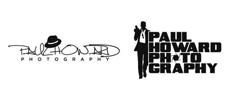 paul howard photography logo small dog design
