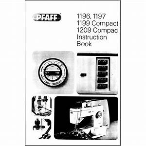 Instruction Manual  Pfaff 1209 Compact   Sewing Parts Online