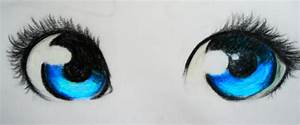 Anime Eyes ouo by riyow16 on DeviantArt